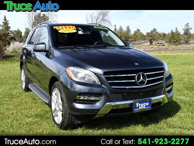 2015 Mercedes-Benz M-Class ML250 BlueTec DIESEL ONE OWNER LOW MILES LOADED