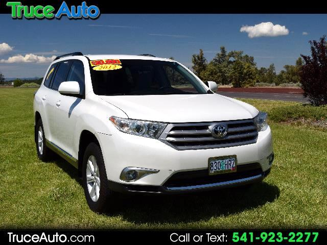 2012 Toyota Highlander Base 4WD LOW MILE THIRD ROW