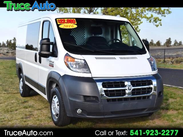 2016 RAM Promaster 1500 Low Roof Tradesman 136-in. WB ONE OWNER
