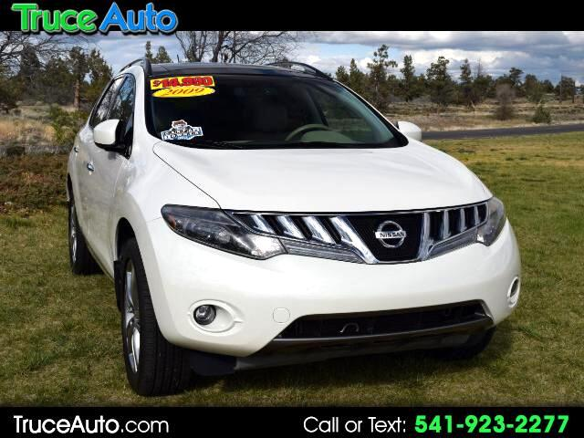 2009 Nissan Murano LE AWD ONE OWNER LOW MILE