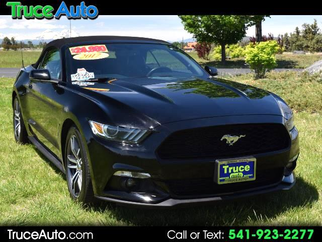2017 Ford Mustang EcoBoost Premium Convertible ONE OWNER