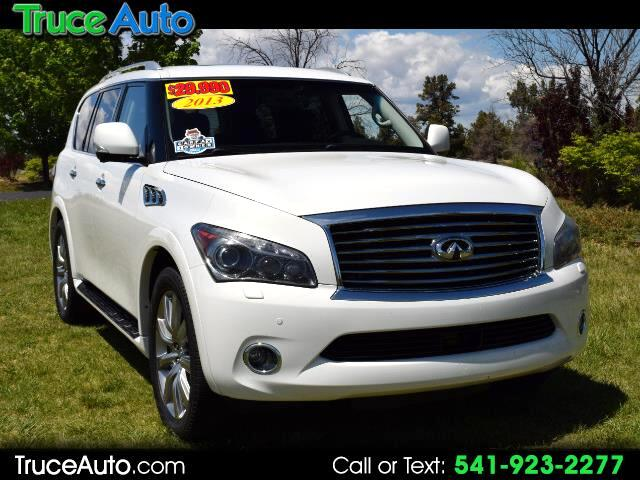 2013 Infiniti QX56 4wd ONE OWNER THIRD ROW