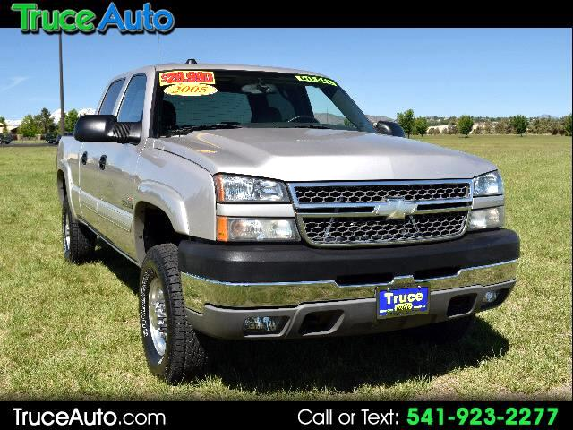 2005 Chevrolet Silverado 2500HD Crew Cab Short Bed DURAMAX DIESEL ONE OWNER