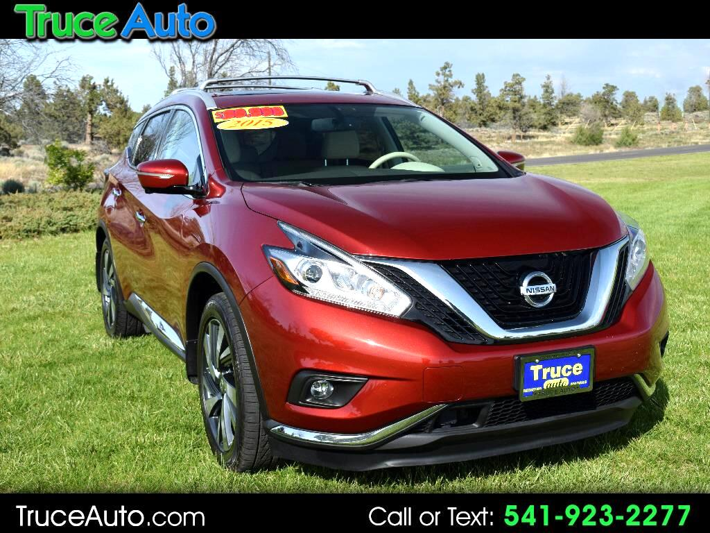 2015 Nissan Murano Platinum AWD LOADED