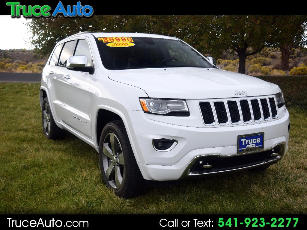 2016 Jeep Grand Cherokee Overland ONE OWNER REGULAR OIL CHANGES