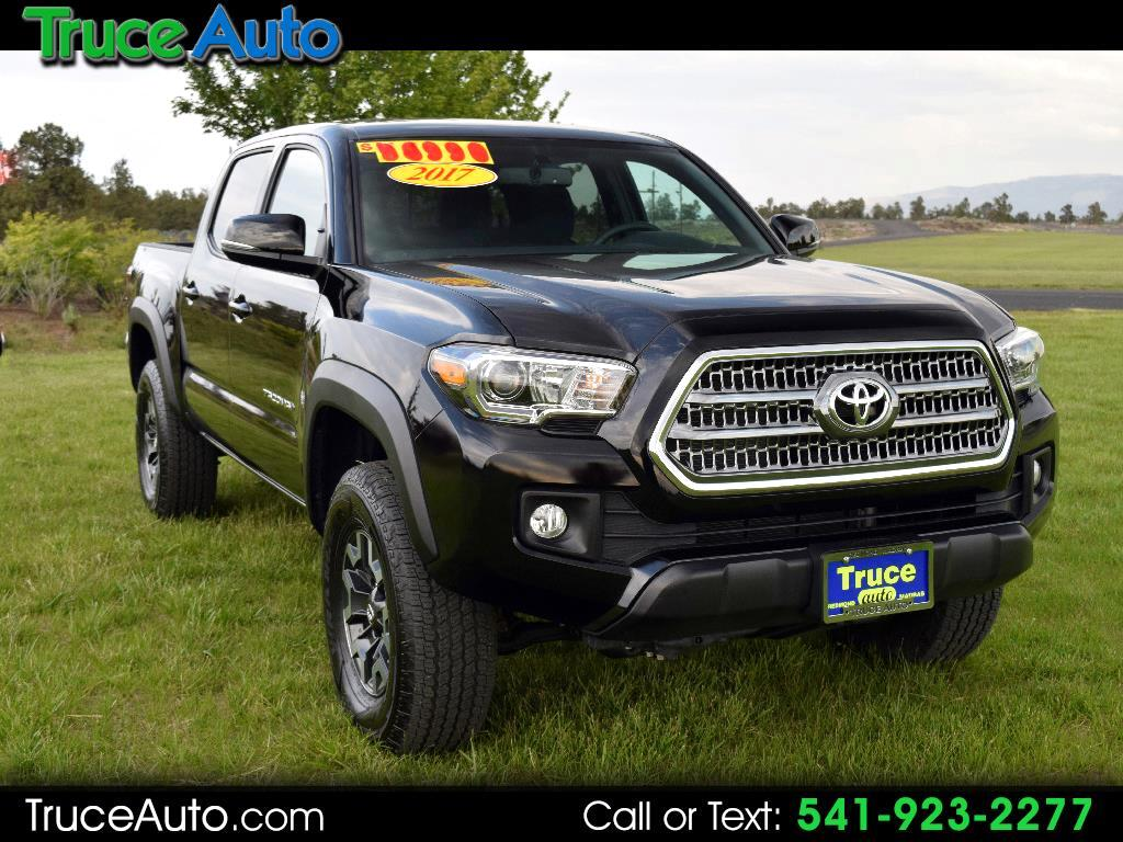 2017 Toyota Tacoma SR5 Double Cab Short Bed ONE OWNER LOW MILE