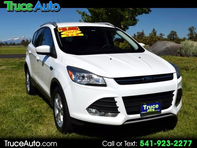 2015 Ford Escape SE 4WD ONE OWNER REGULAR OIL CHANGES