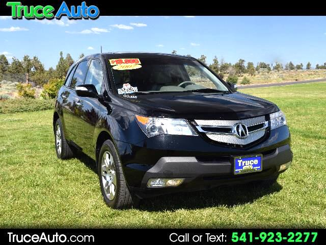 2007 Acura MDX Tech Package w/DVD LOW MILE ONE OWNER