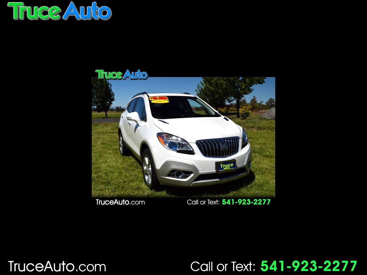 2015 Buick Encore Premium AWD ONE OWNER LOW MILE