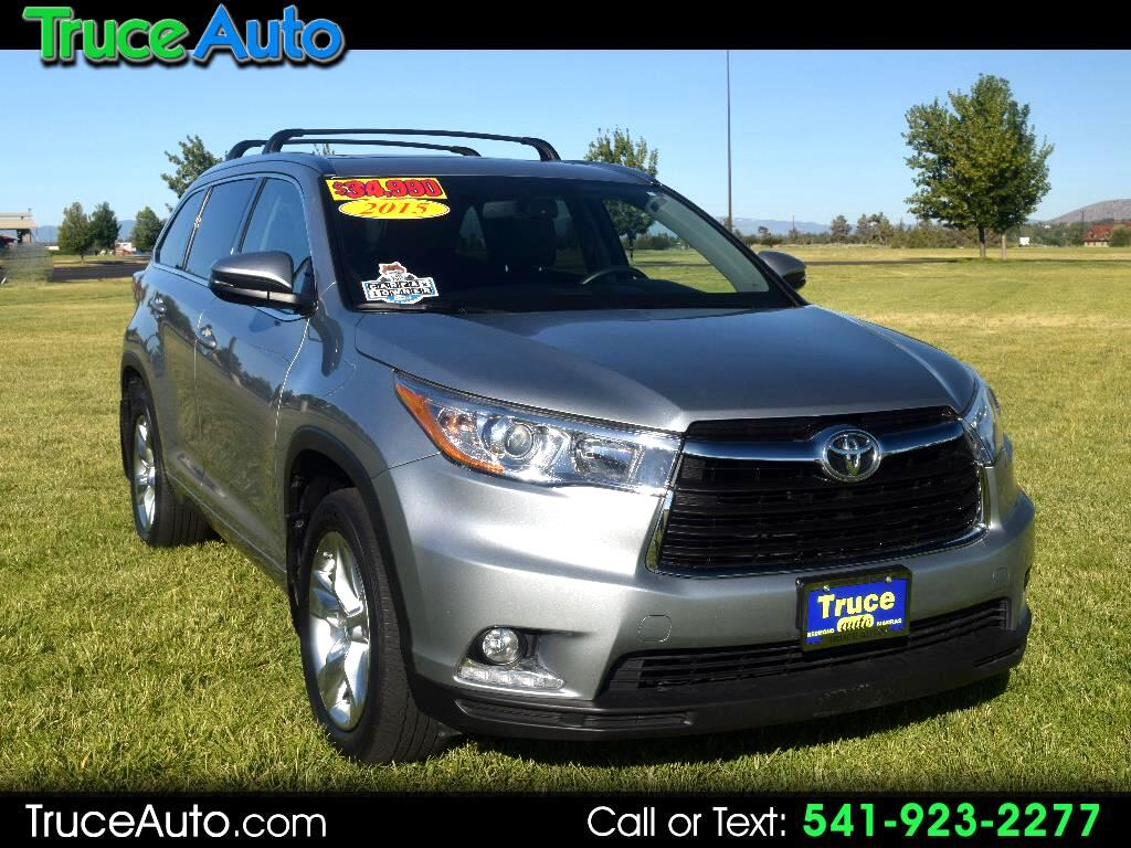 2015 Toyota Highlander Limited Platinum AWD One Owner Low MIle