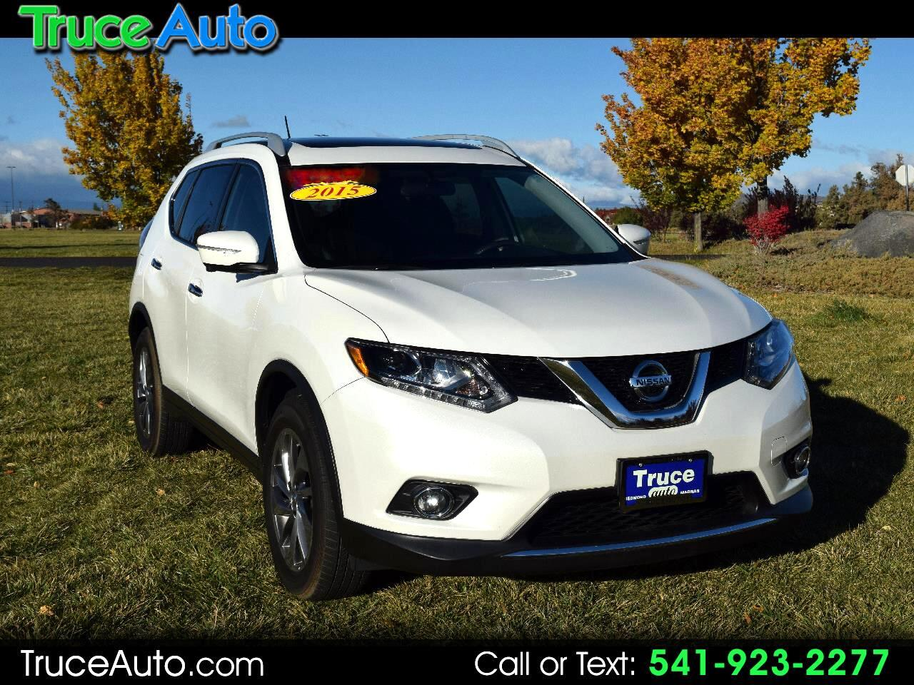 2015 Nissan Rogue SL AWD LOW MILE
