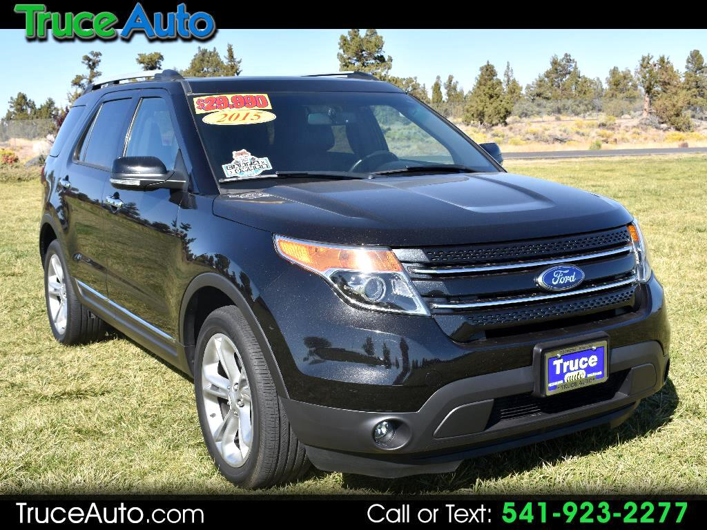 2015 Ford Explorer Limited 4WD ONE OWNER LOW MILE
