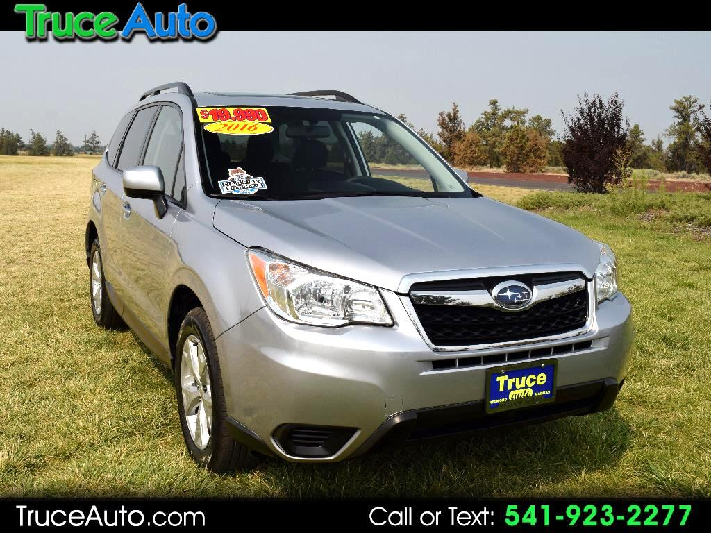 2016 Subaru Forester 2.5i Premium PZEV ONE OWNER