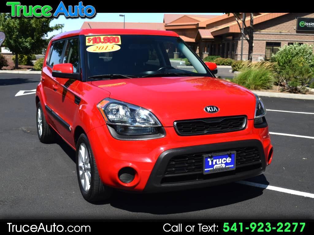 2013 Kia Soul + Wgn Auto FUN GAS SAVER