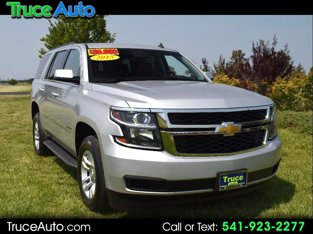 2015 Chevrolet Tahoe LT 4WD THIRD ROW SEATING