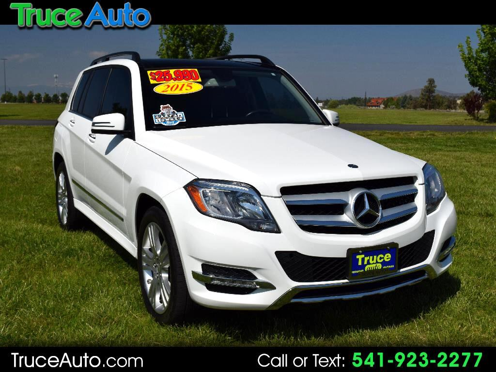 2015 Mercedes-Benz GLK-Class GLK ONE OWNER REGULAR OIL CHANGES