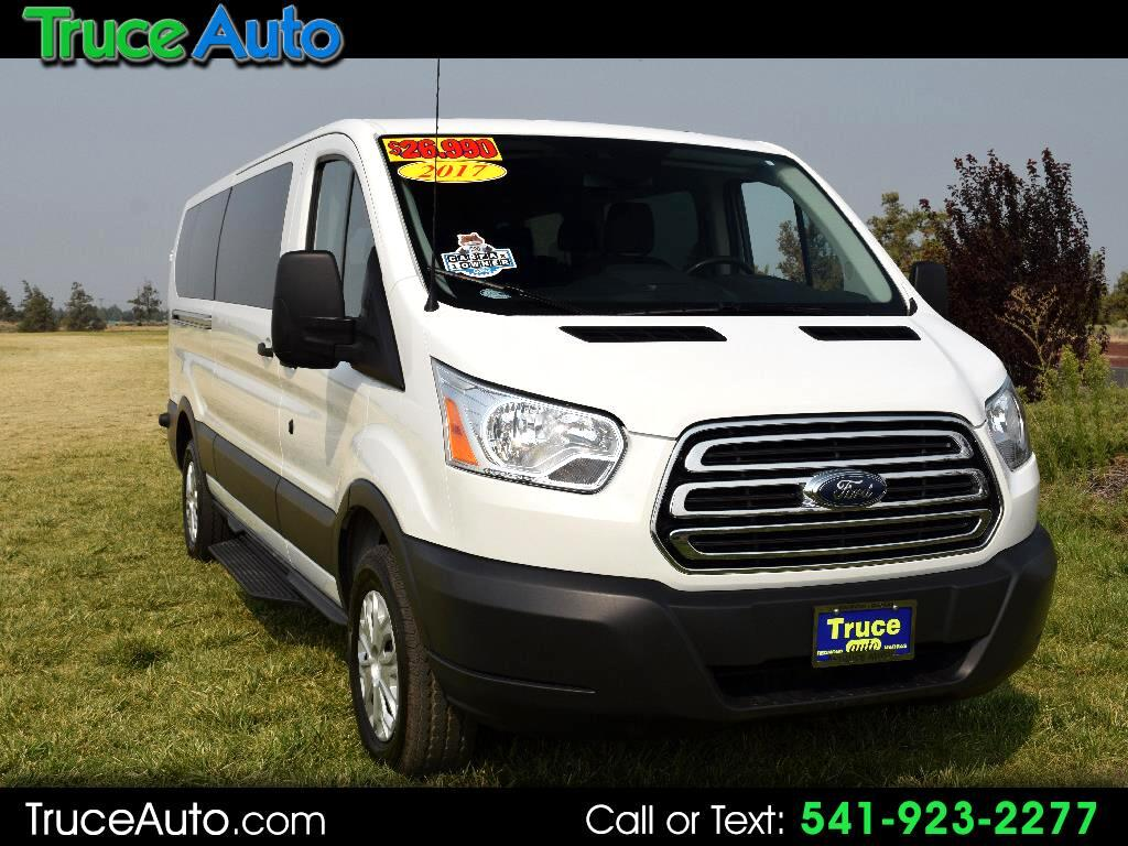 "2017 Ford Transit Wagon T350- 18"" Low Roof XLT Sliding Door 12 Passenger"