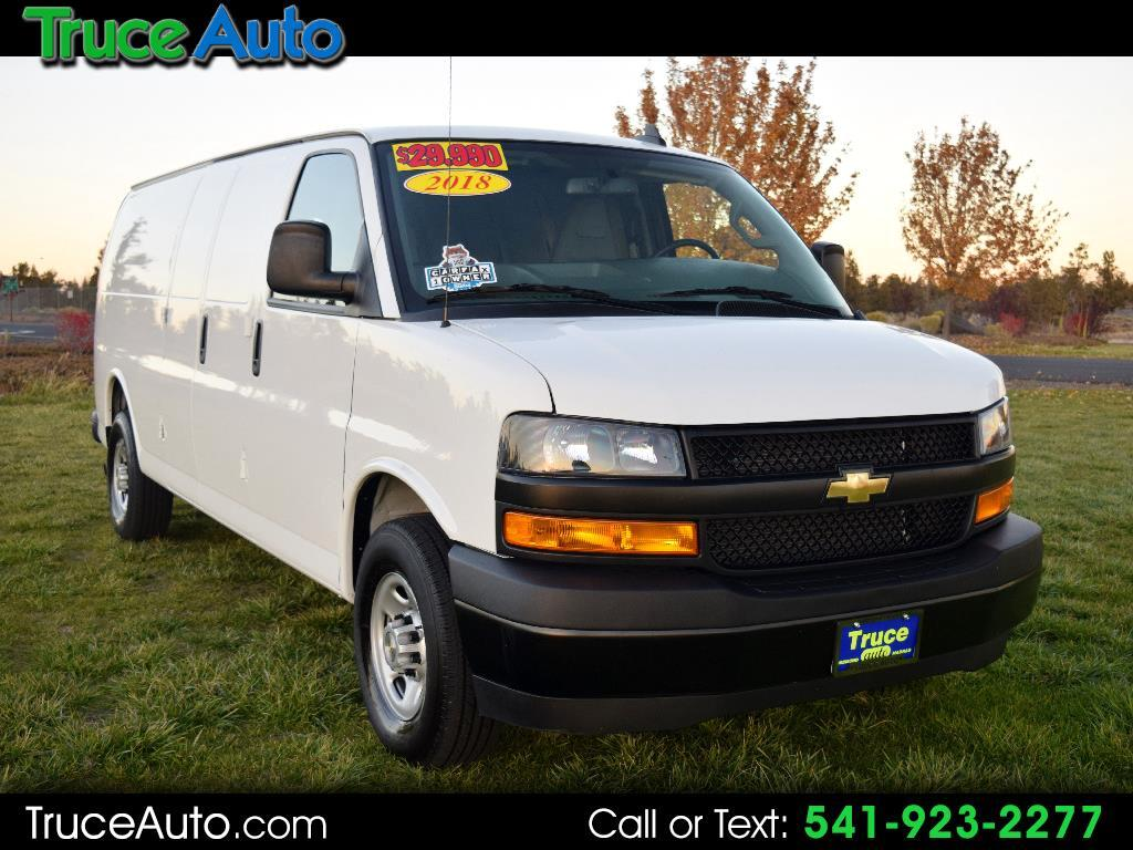 "2018 Chevrolet Express Cargo Van RWD 2500 155"" ***LOW MILE***ONE OWNER***"