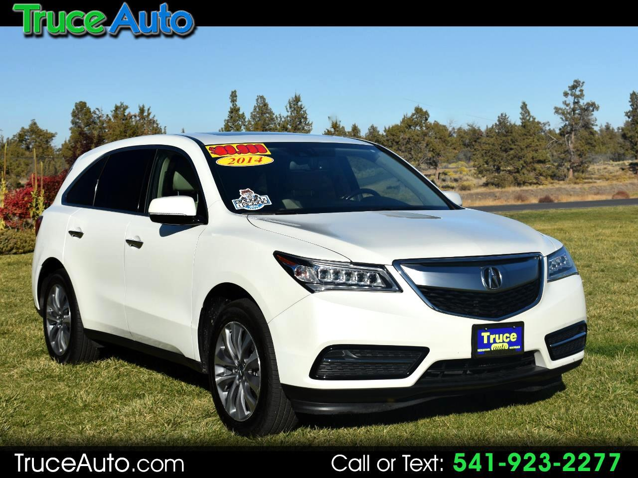 2014 Acura MDX SH-AWD Tech Pkg ***ONE OWNER***