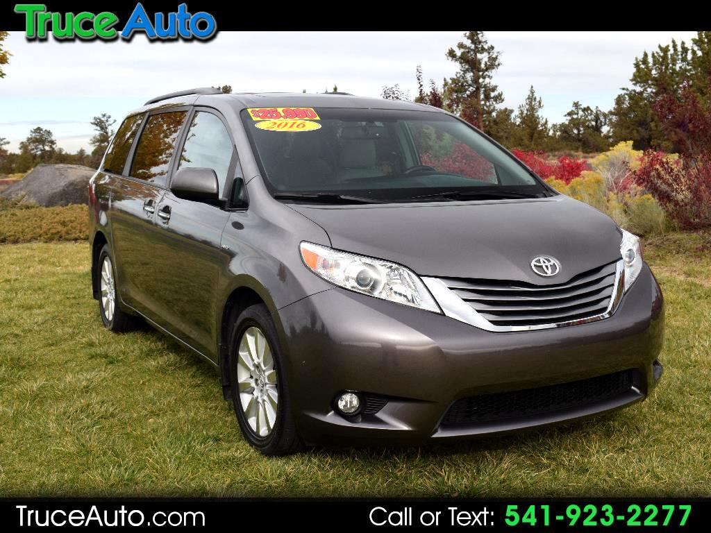 2016 Toyota Sienna Limited AWD V6 ***LOADED***THIRD ROW***