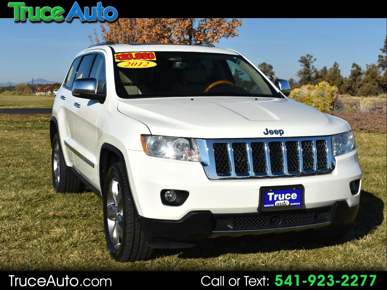 2012 Jeep Grand Cherokee Overland 4WD ***ONE OWNER***