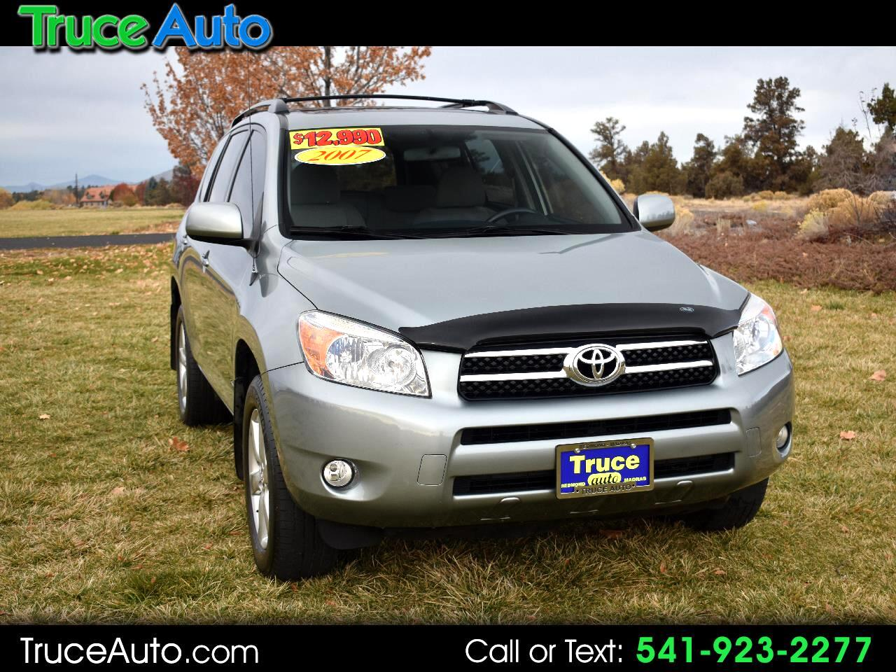 2007 Toyota RAV4 Limited 4WD ***LOW MILE***