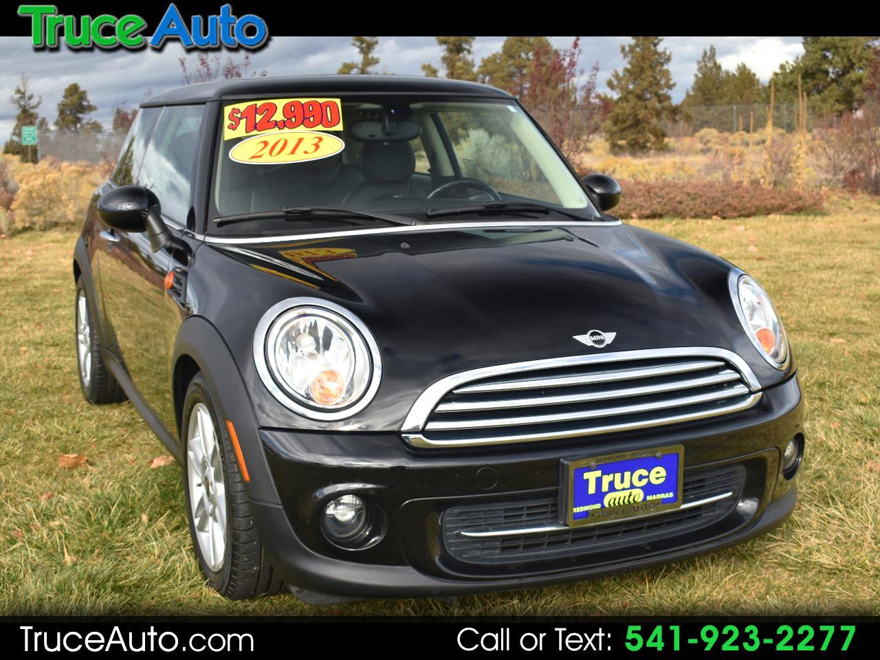 2013 MINI Cooper Hardtop 2dr Cpe ***LOW MILE***GAS SAVER***