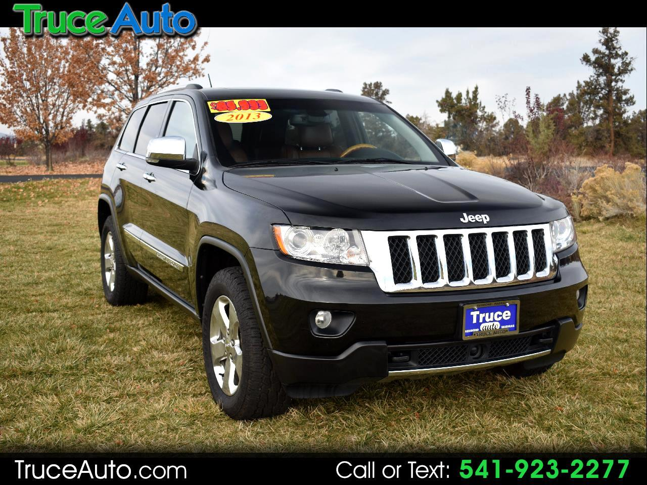 2013 Jeep Grand Cherokee Overland 4WD ***LOW MILE***