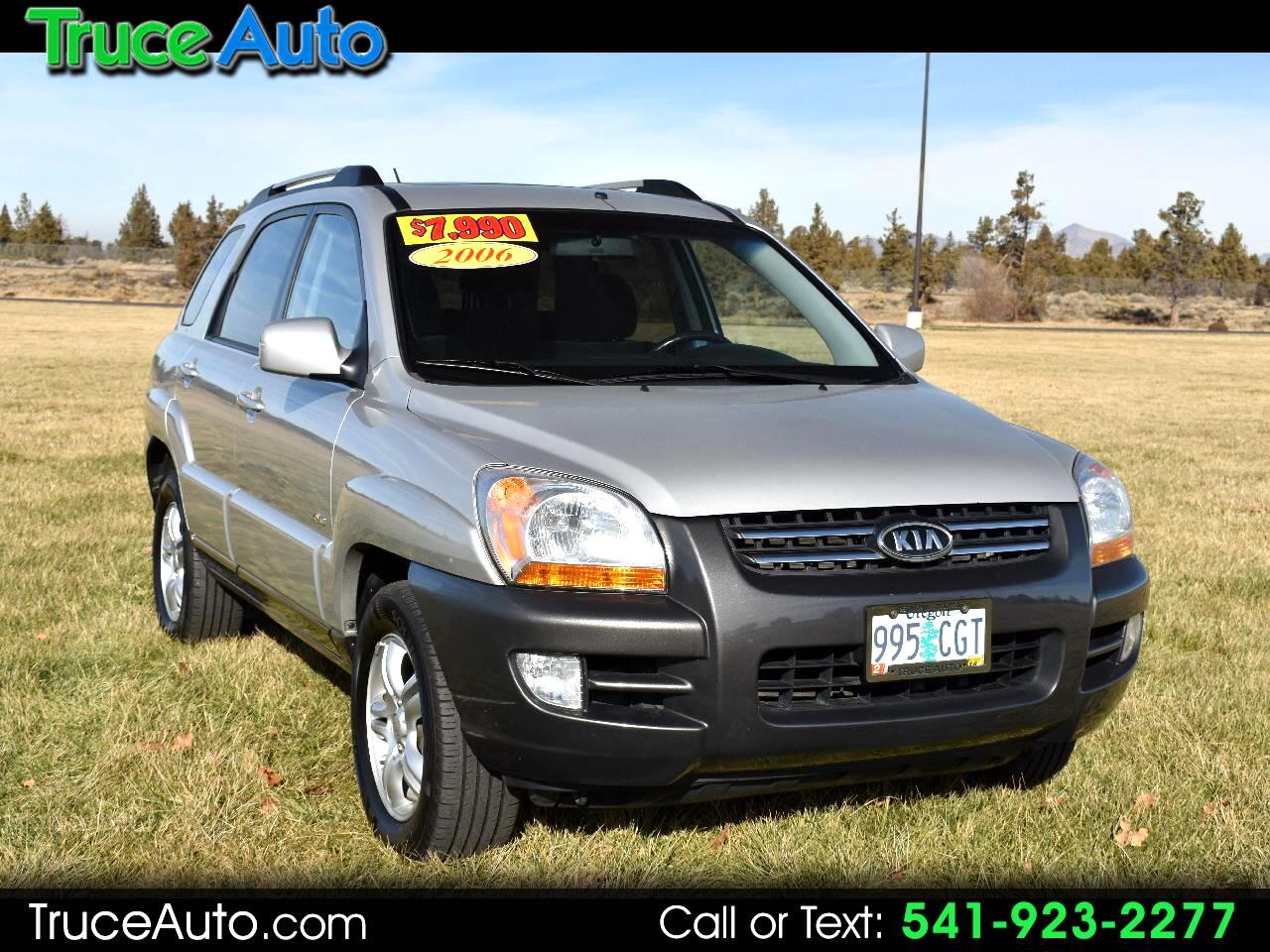 2006 Kia Sportage LX 4WD **ONE OWNER** **LOW MILES**
