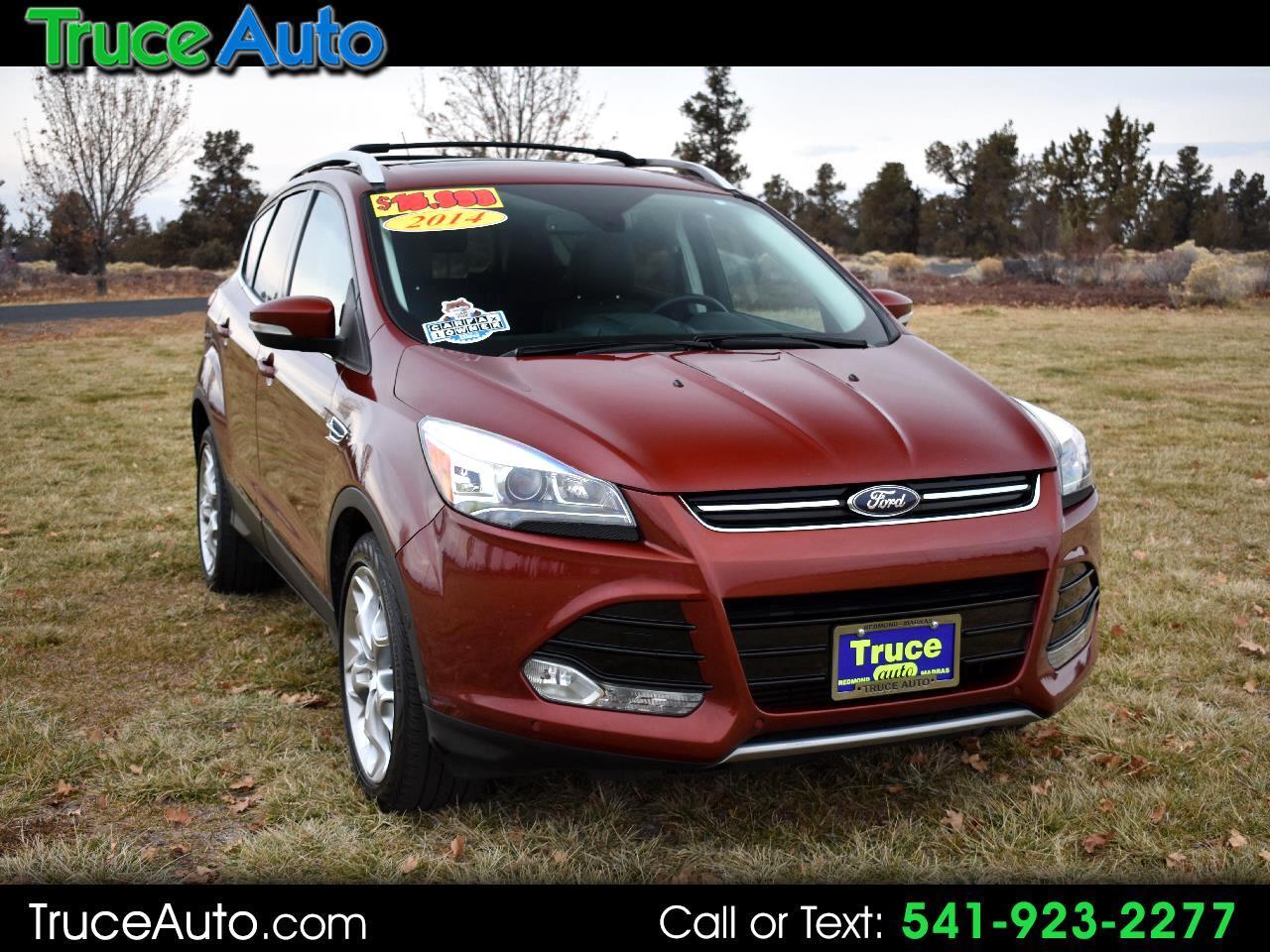 2014 Ford Escape Titanium 4WD 4dr ****ONE OWNER***