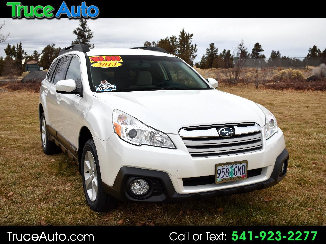 2013 Subaru Outback 2.5i Auto Premium Wgn AWD LOW MILES ONE OWNER