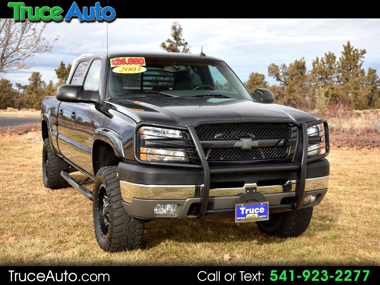 2003 Chevrolet Silverado 2500HD Crew Cab 4WD LT ***DIESEL***LOW MILES***