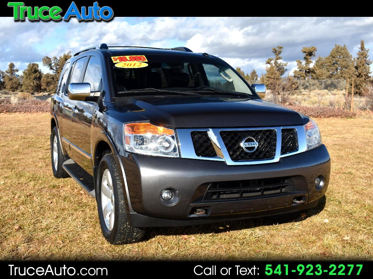2012 Nissan Armada SL 4WD ***THIRD ROW SEATING***