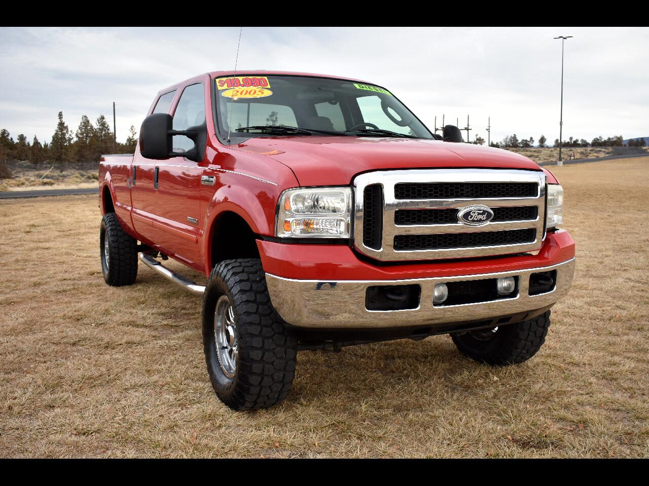 2005 Ford Super Duty F-250 XL Crew Cab 4WD ***DIESEL***LOW MILE***