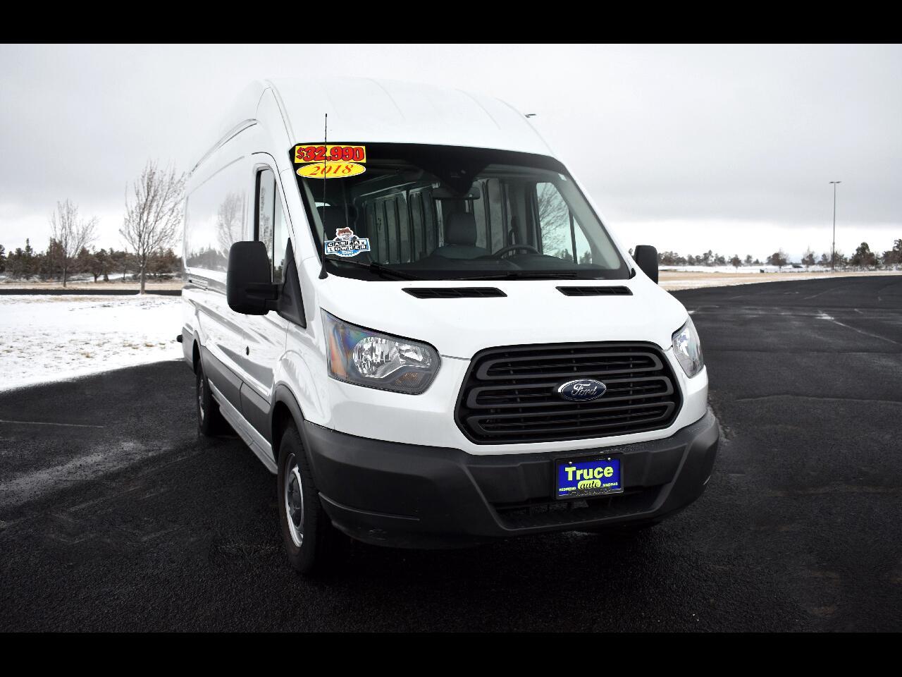 "2018 Ford Transit Van T-250 148"" HI RF SLIDING RH DR **ONE OWNER**"