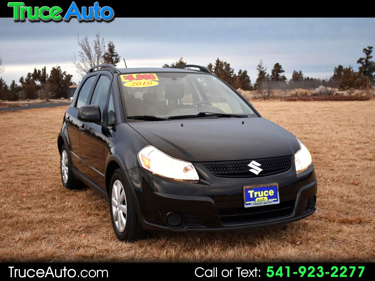 2010 Suzuki SX4 5dr HB Man AWD ***EXTRA LOW MILE***GAS SAVER***