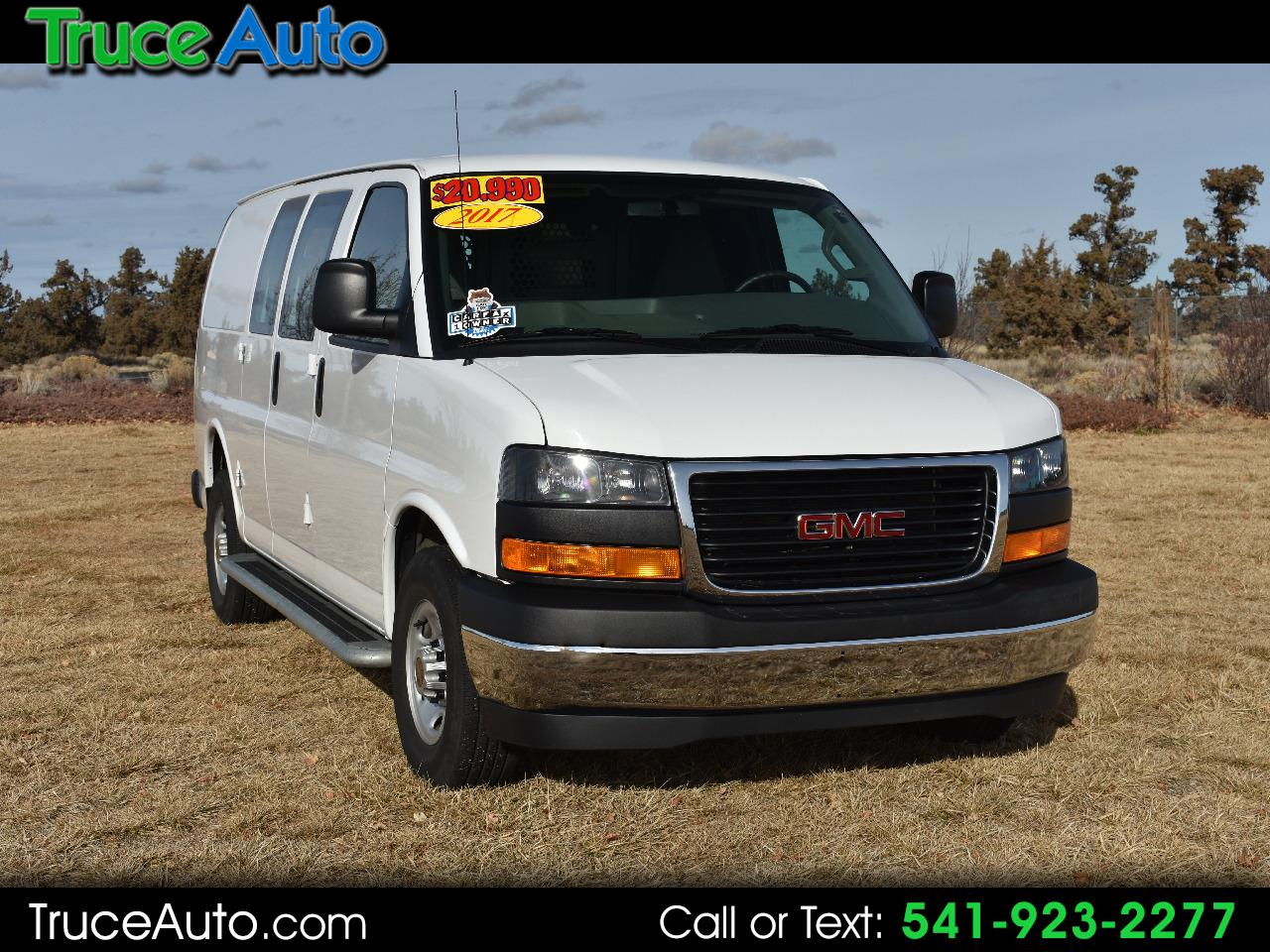 2017 GMC Savana Cargo Van 2500 ***10,155 MILES*** ONE OWNER***