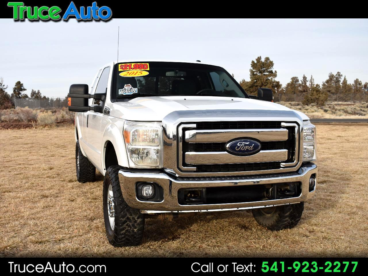 2015 Ford Super Duty F-250 SRW 4WD SUPER CAB XLT **ONE OWNER**