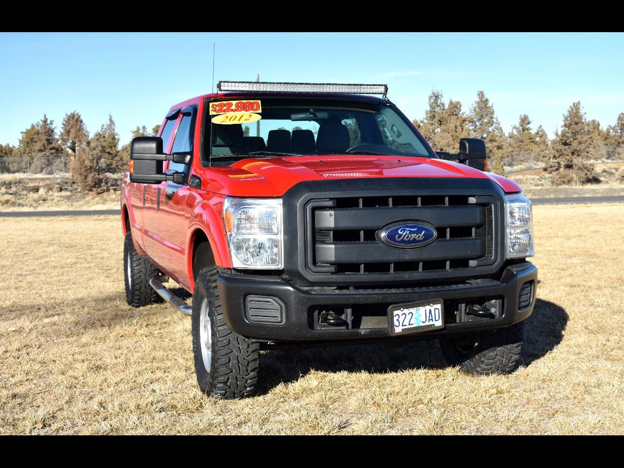 2012 Ford Super Duty F-350 SRW Crew Cab XL 4WD ***Long Box***