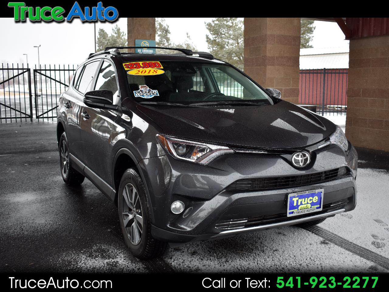 2018 Toyota RAV4 XLE AWD **ONE OWNER**