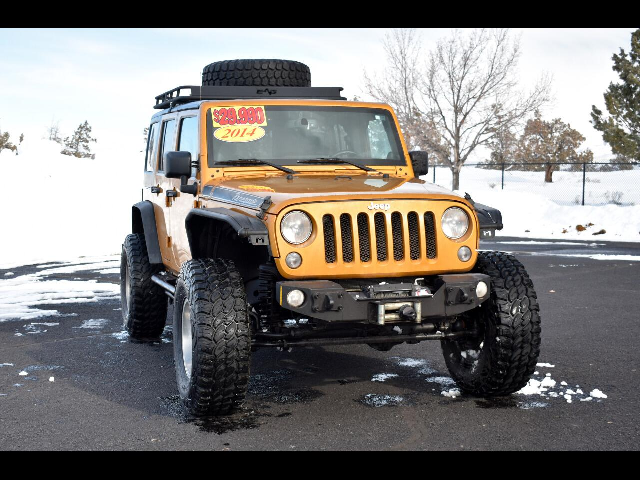 2014 Jeep Wrangler Unlimited 4WD SAHARA **ONE OWNER**