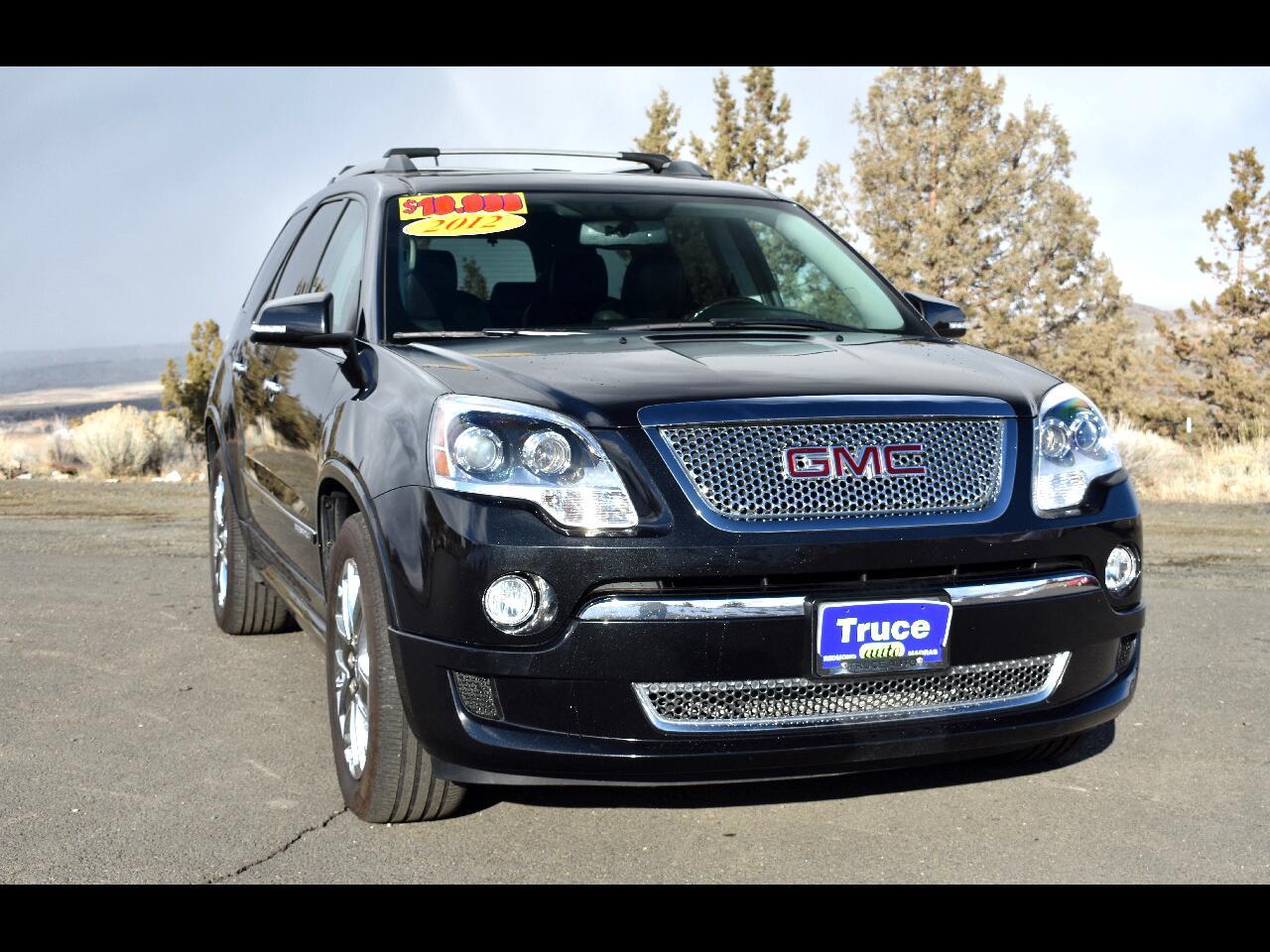 2012 GMC Acadia AWD 4dr Denali ****THIRD ROW***LOW MILES****