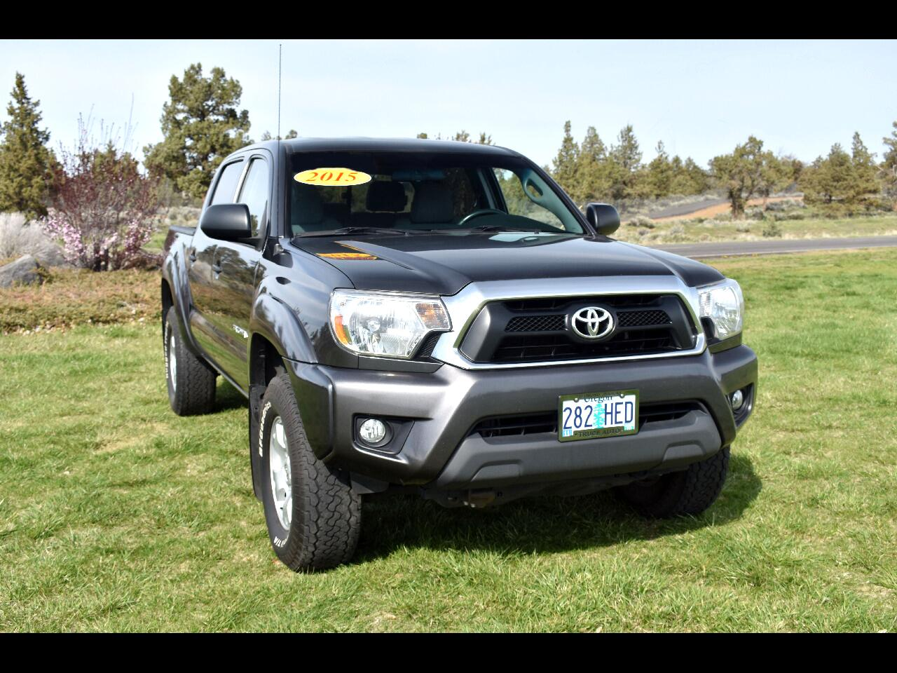 2015 Toyota Tacoma 4WD DOUBLE CAB V6 AT ***ONE OWNER***