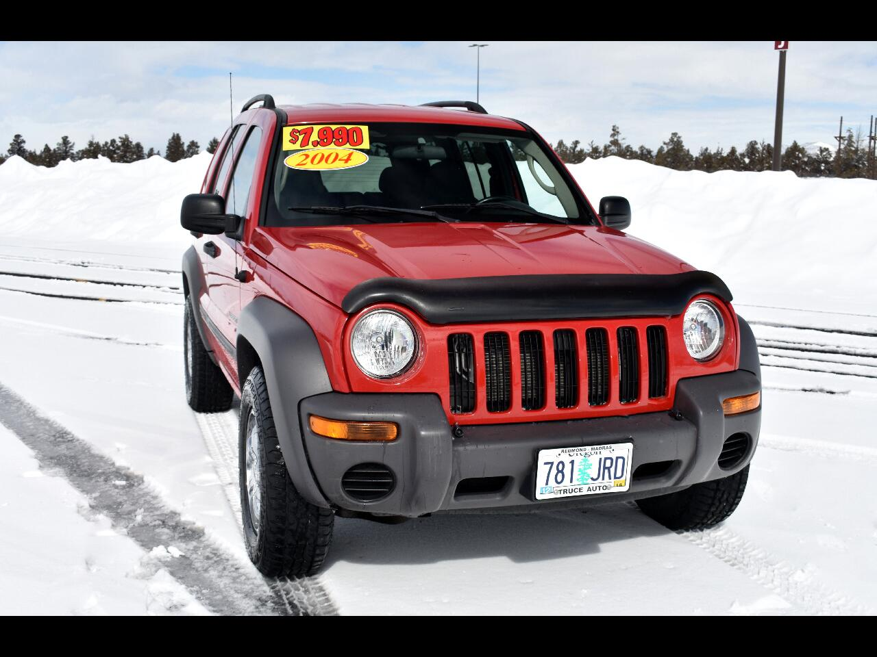 2004 Jeep Liberty 4 dr Sport 4WD ***LOW MILES***