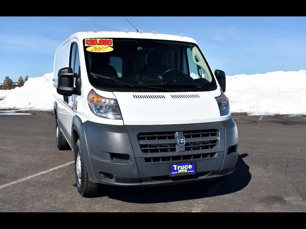 """2017 RAM ProMaster Cargo Van 1500 LOW ROOF 136"""" **ONE OWNER**"""