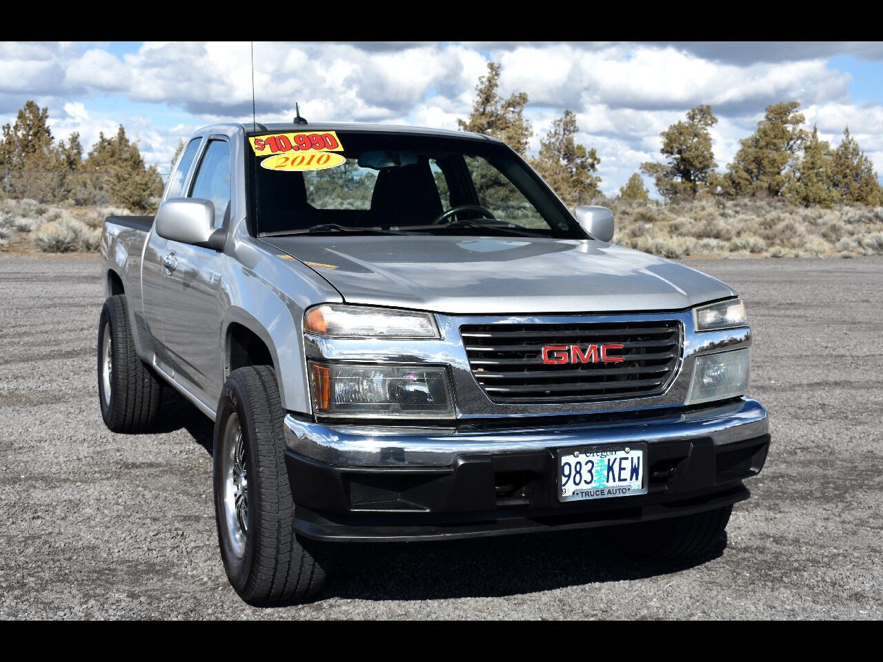 2010 GMC Canyon 4WD Ext Cab 125.9