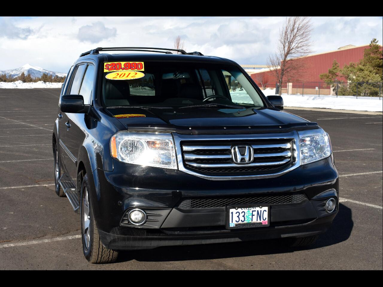 2012 Honda Pilot 4WD TOURING W/RES & NAV **ONE OWNER**