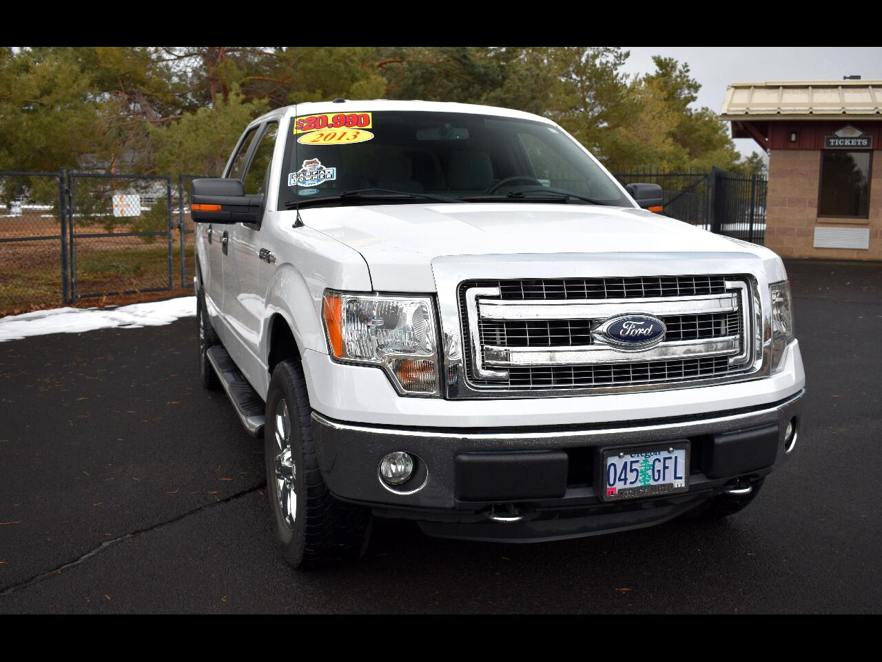 "2013 Ford F-150 4WD SUPER CREW 145"" XL **ONE OWNER**"