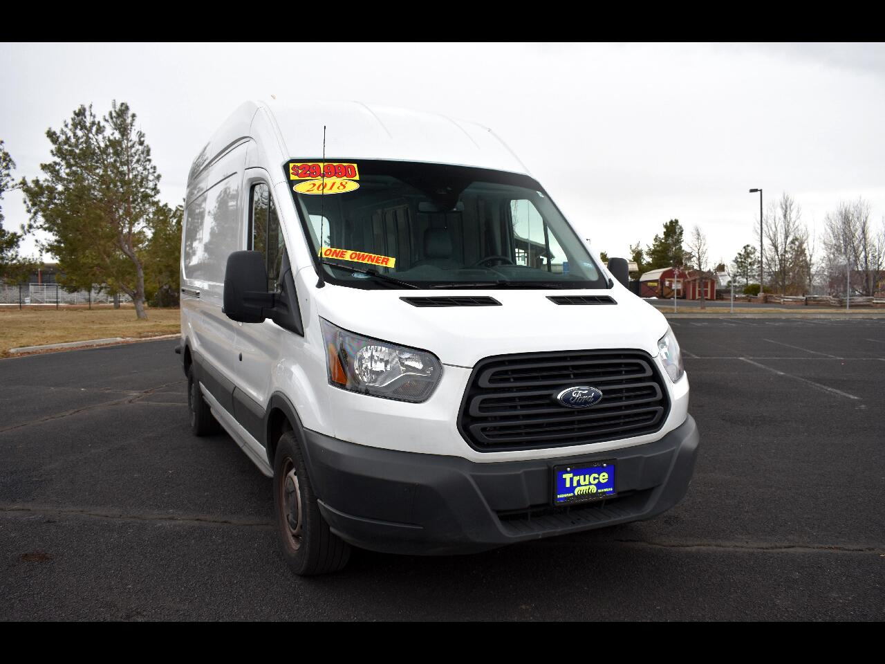 "2018 Ford Transit Van T-250 148"" HI RF ***ONE OWNER***LOW MILES***"