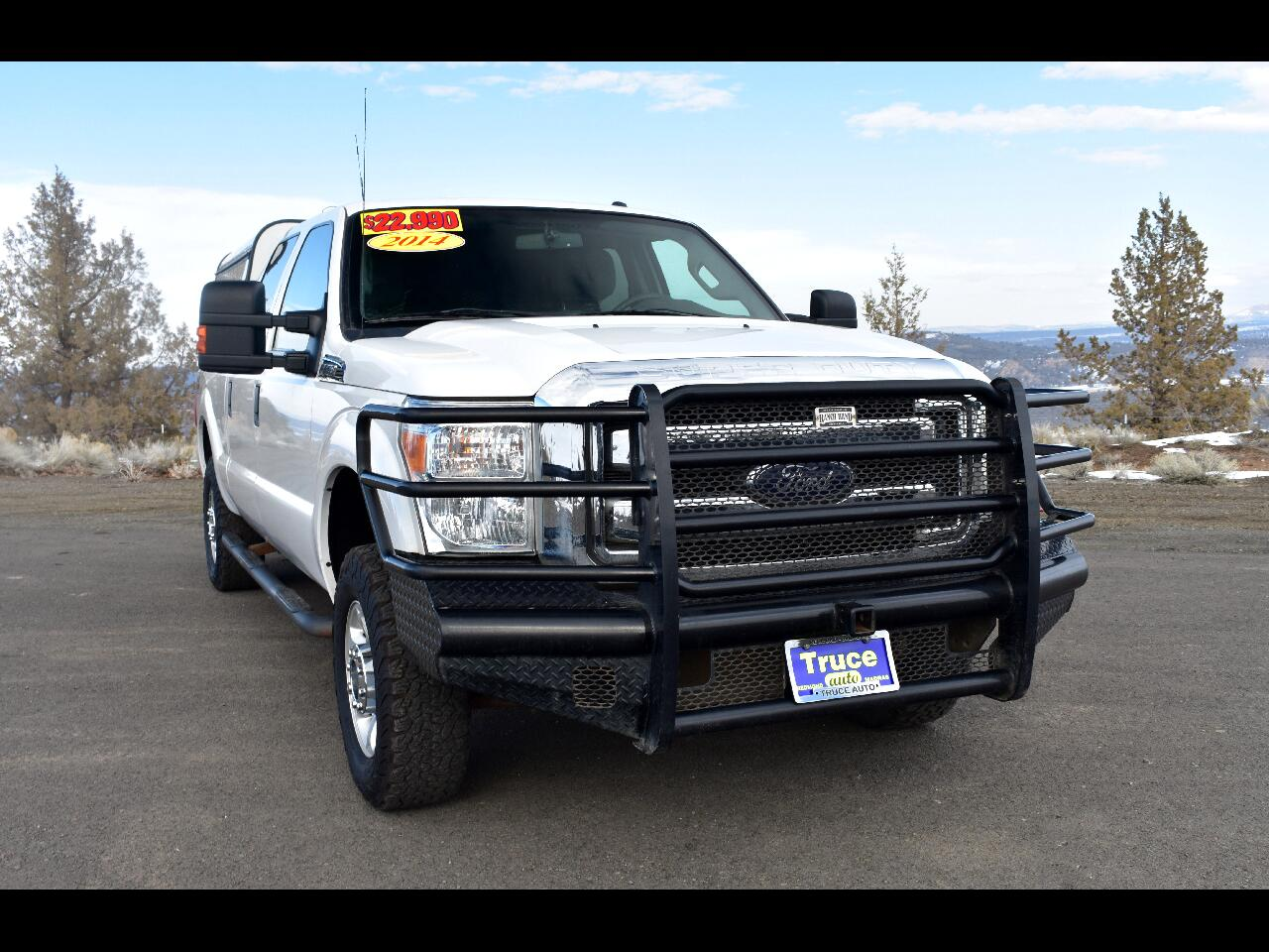 "2014 Ford Super Duty F-250 SRW 4WD Crew Cab 156"" XL **ONE OWNER**"